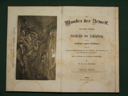 ZIMMERMANN, W.F.A.: Die Wunder der Urwelt XVIII. kiadás
