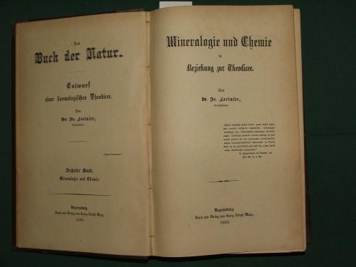 LORINSER Fr.: Mineralogie und Chemie