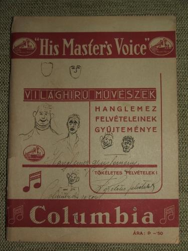 """His Master's Voice"""