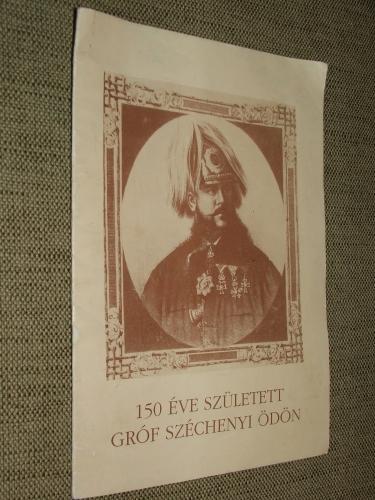 150 éve született gróf Széchenyi Ödön