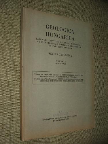 VÉGHNÉ dr. NEUBRANDT Erzsébet: A Gerecsehegységfelsőtriász képződményeinek ülledékföldtani vizsgálata