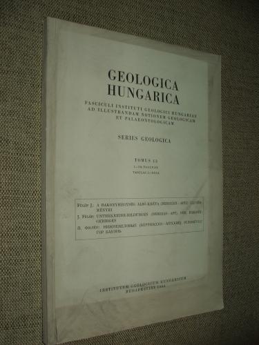 FÜLÖP J(ózsef): A Bakonyhegység alsó-kréta(Berriázi-Apti) képződményei