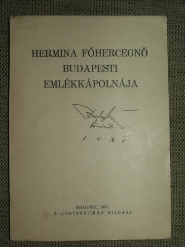 SCHOEN Arnold: Hermina főhercegnő budapesti emlékkápolnája