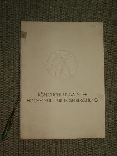 Königliche Ungarische Hochschule für Körpererziehung