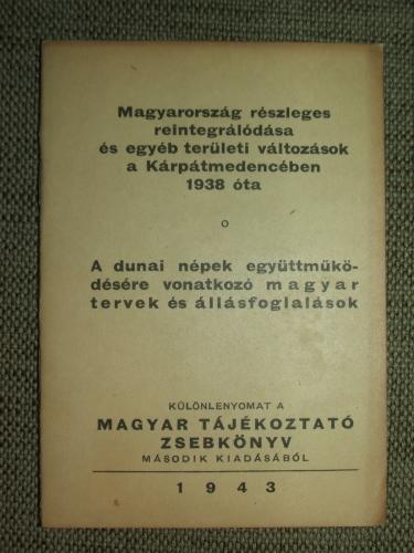 Magyarország részleges reintegrálódása és egyéb területi változások a Kárpátmedencében 1938 óta