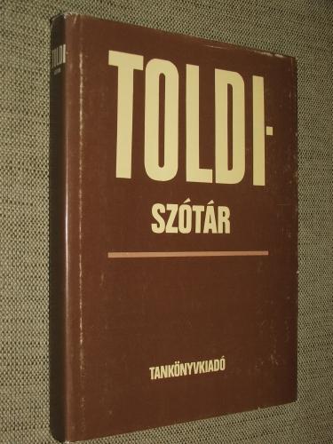 PÁSZTOR Emil: Toldi-szótár