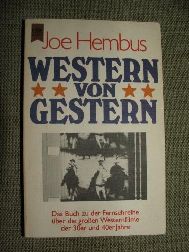 HEMBUS, Joe: Western von Gestern Originalausgabe