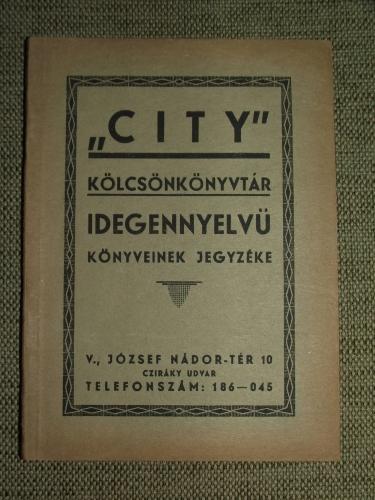 """""""CITY"""" Kölcsönkönyvtár"""