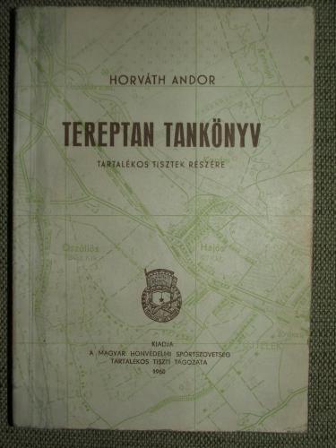 HORVÁTH Andor: Tereptan tankönyv