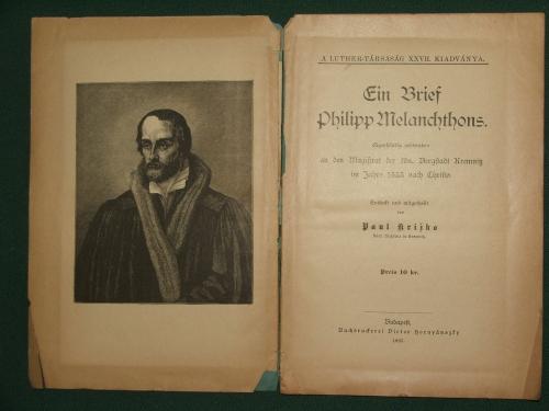 Ein Brief Philipp Melanchthons