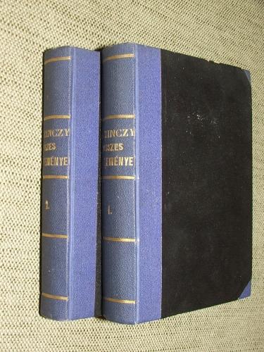 KAZINCZY Ferenc: – – Összes költeményei I-II. kötet