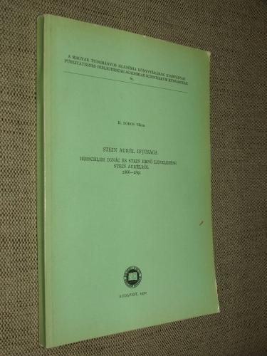 H. BOROS Vilma: Stein Aurél ifjúsága