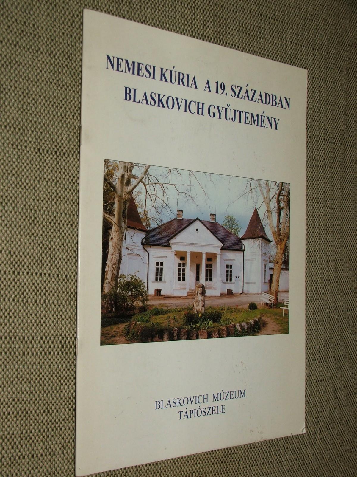 (GOCSÁNÉ MÓRÓ Csilla): Nemesi kúria a 19. században Blaskovich gyűjtemény