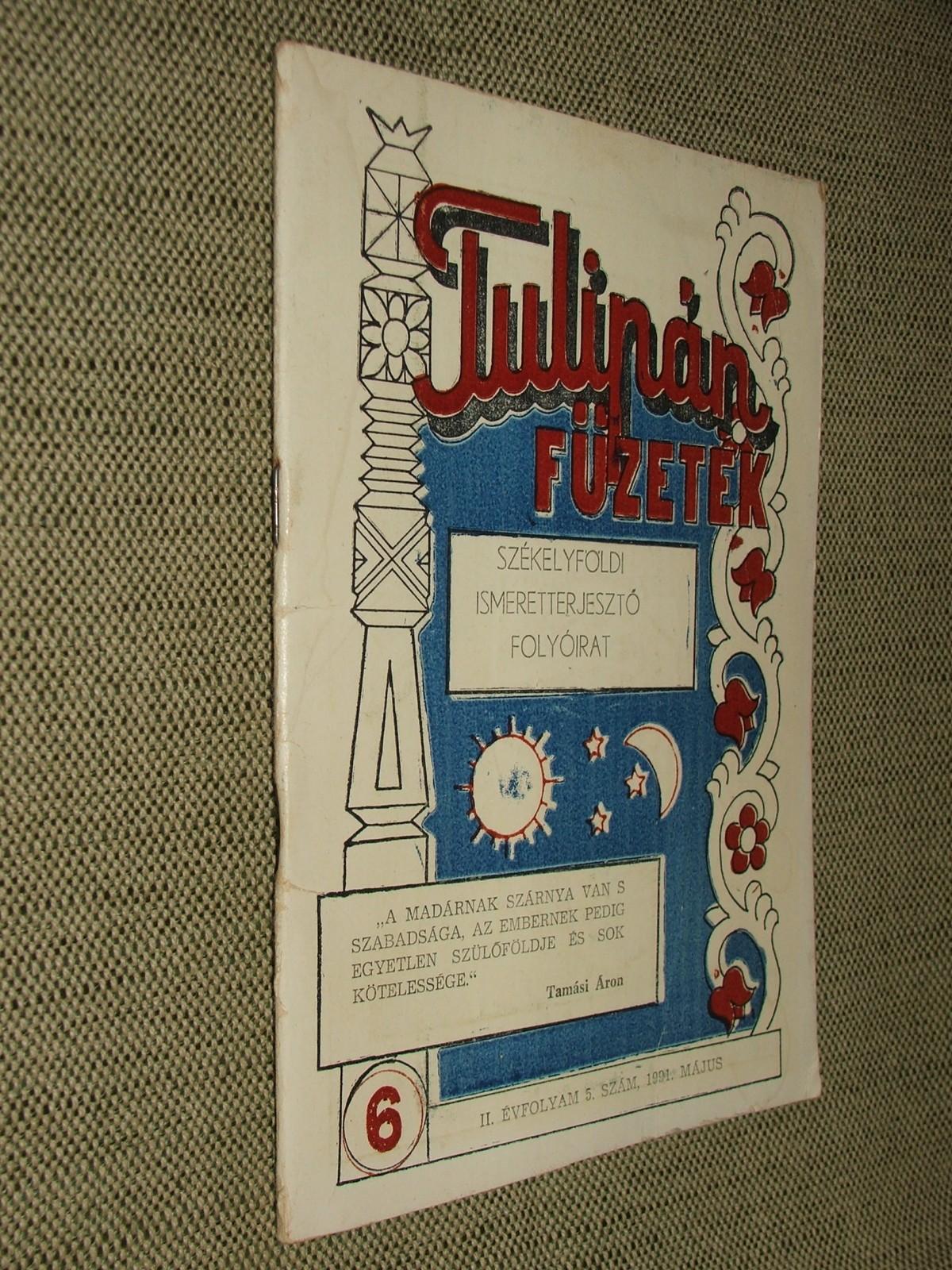 Tulipán füzetek
