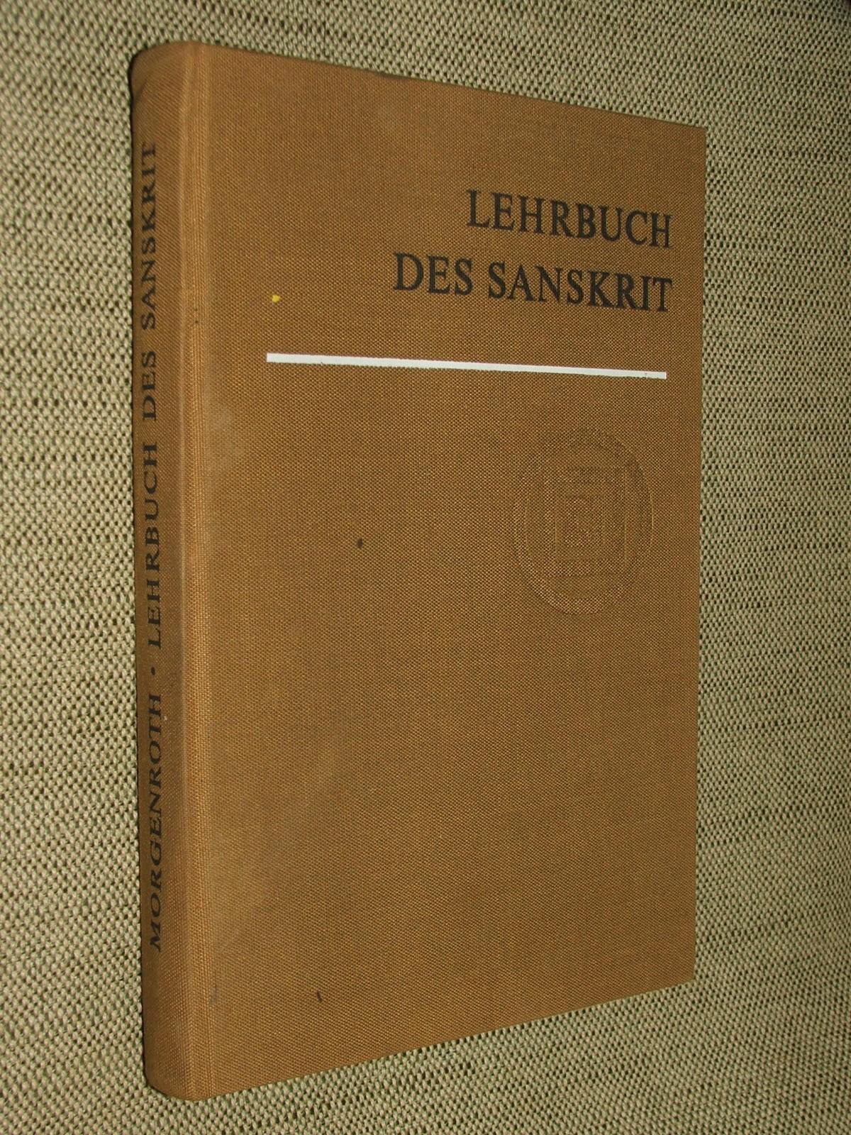 MORGENROTH, Wolfgang: Lehrbuch des Sanskrit