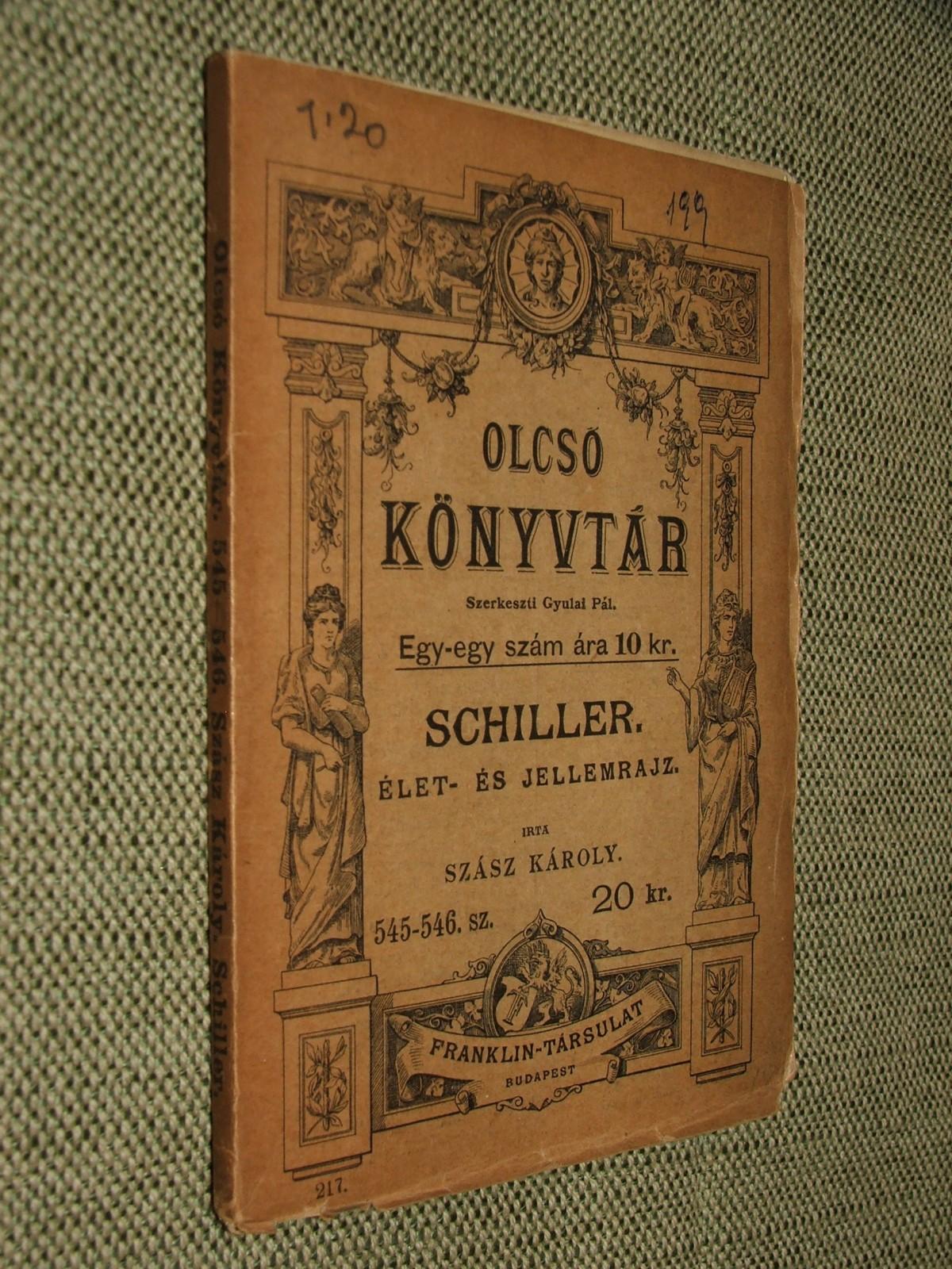 SZÁSZ Károly: Schiller.