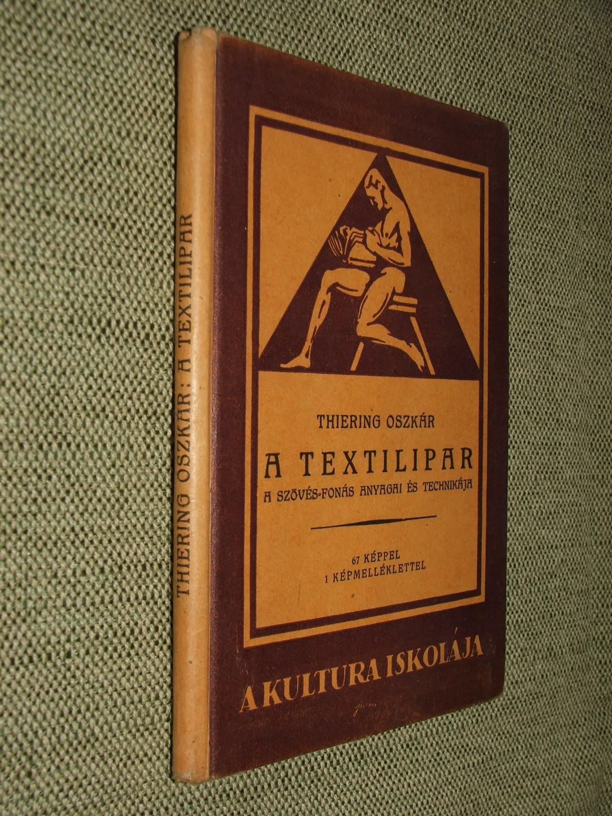 THIERING Oszkár: A textilipar