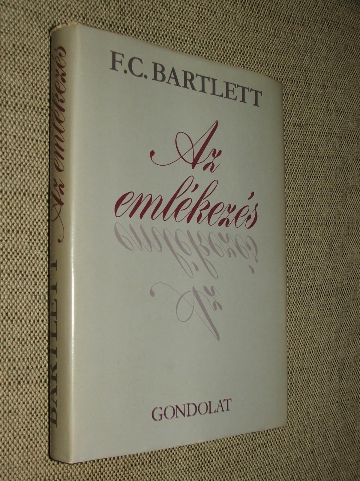 BARTLETT, F(rederick) C(harles): Az emlékezés