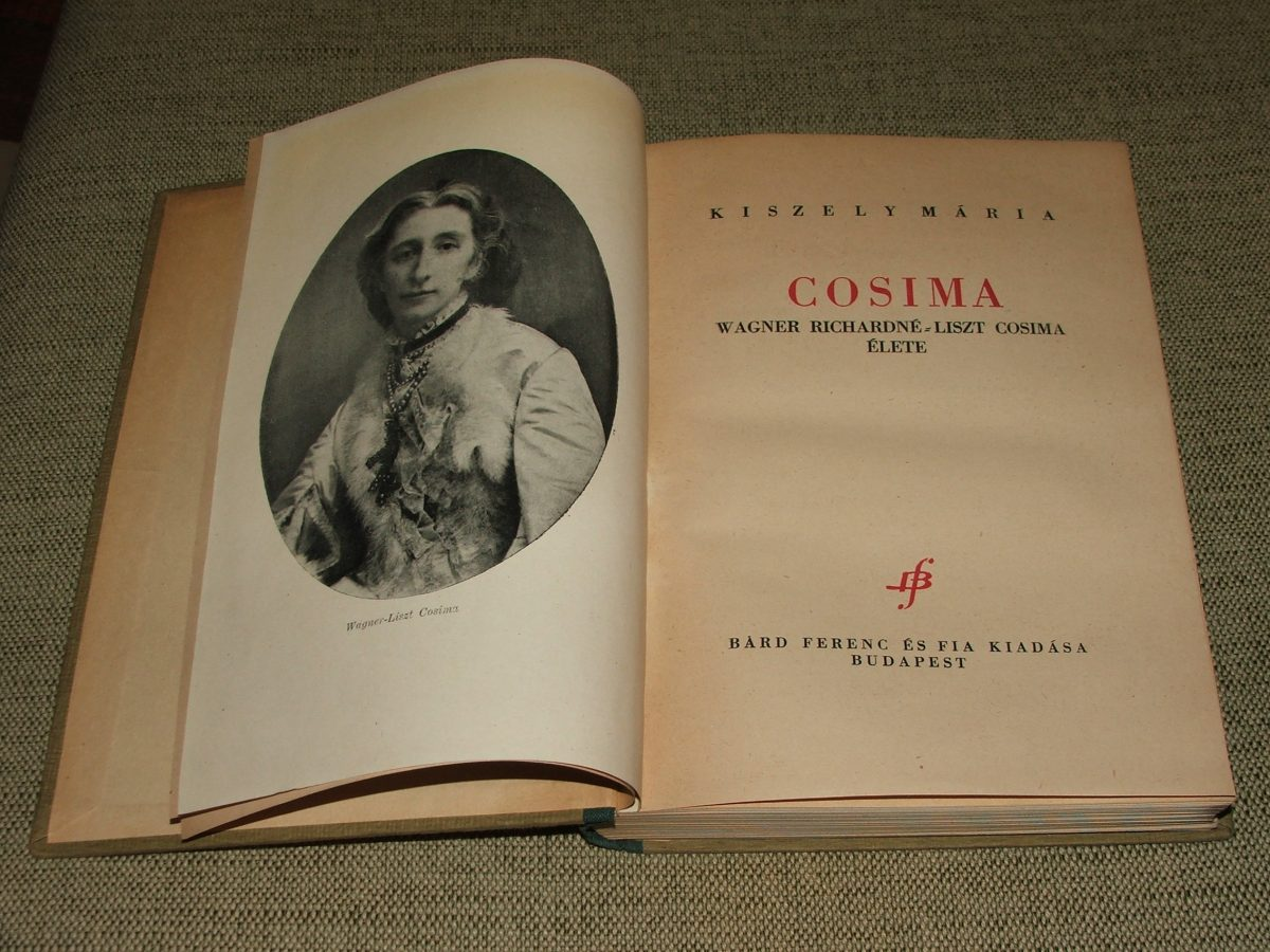 KISZELY Mária: Cosima