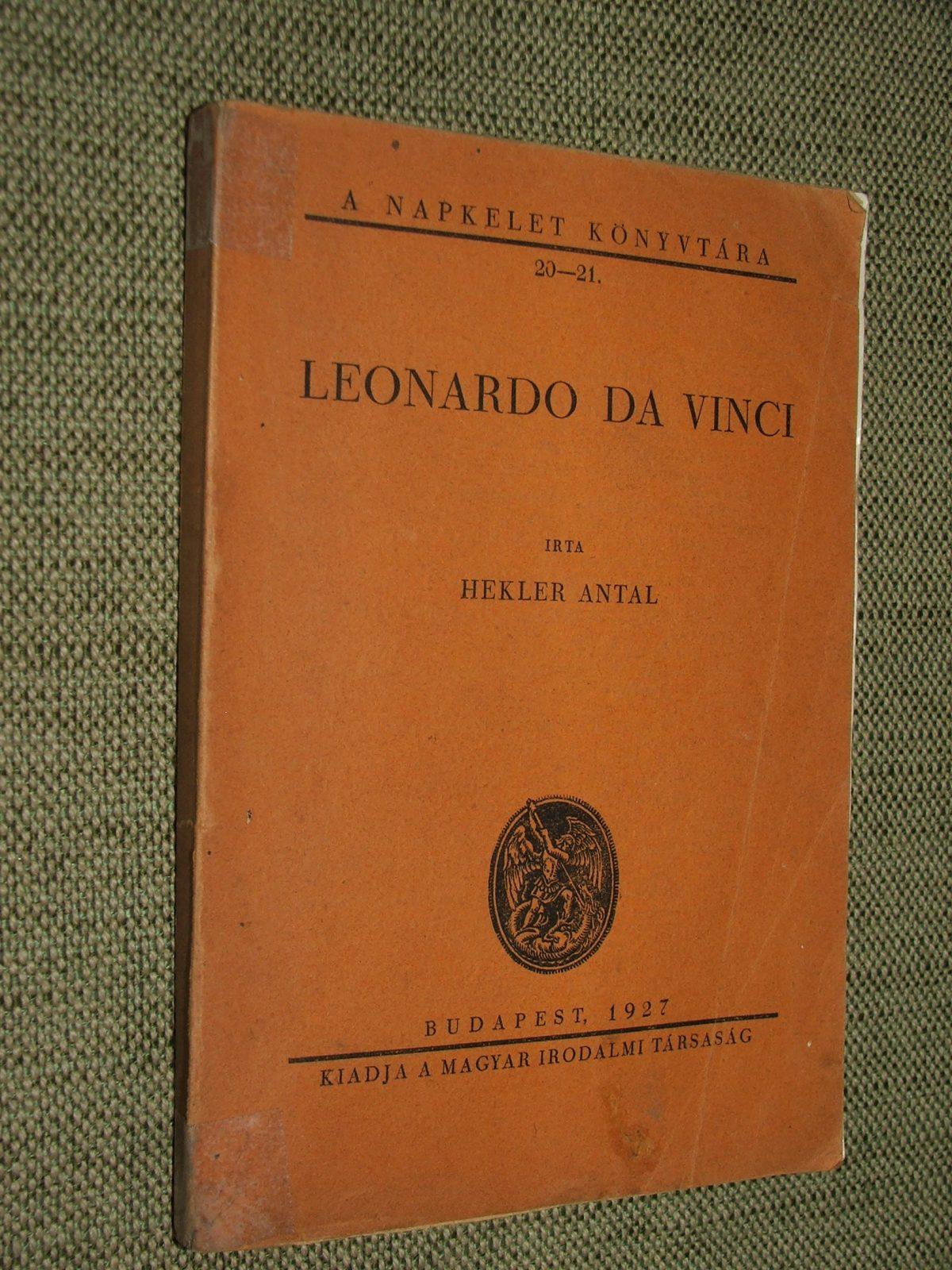 HEKLER Antal: Leonardo da Vinci