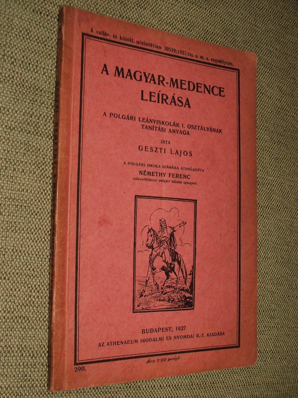 GESZTI Lajos: A magyar-medence leírása
