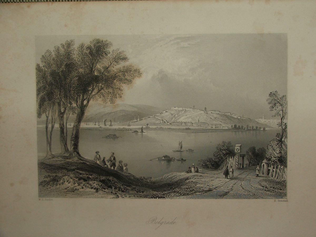 BARTLETT, W.H. – BRANDARD, E.: Belgrade