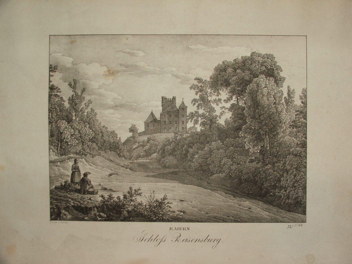 BAIERN: Schloss Reisensburg