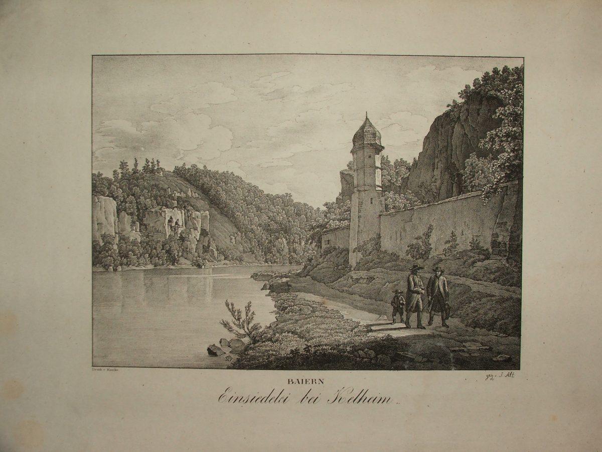 BAIERN: Einsiedelei bei Kelheim