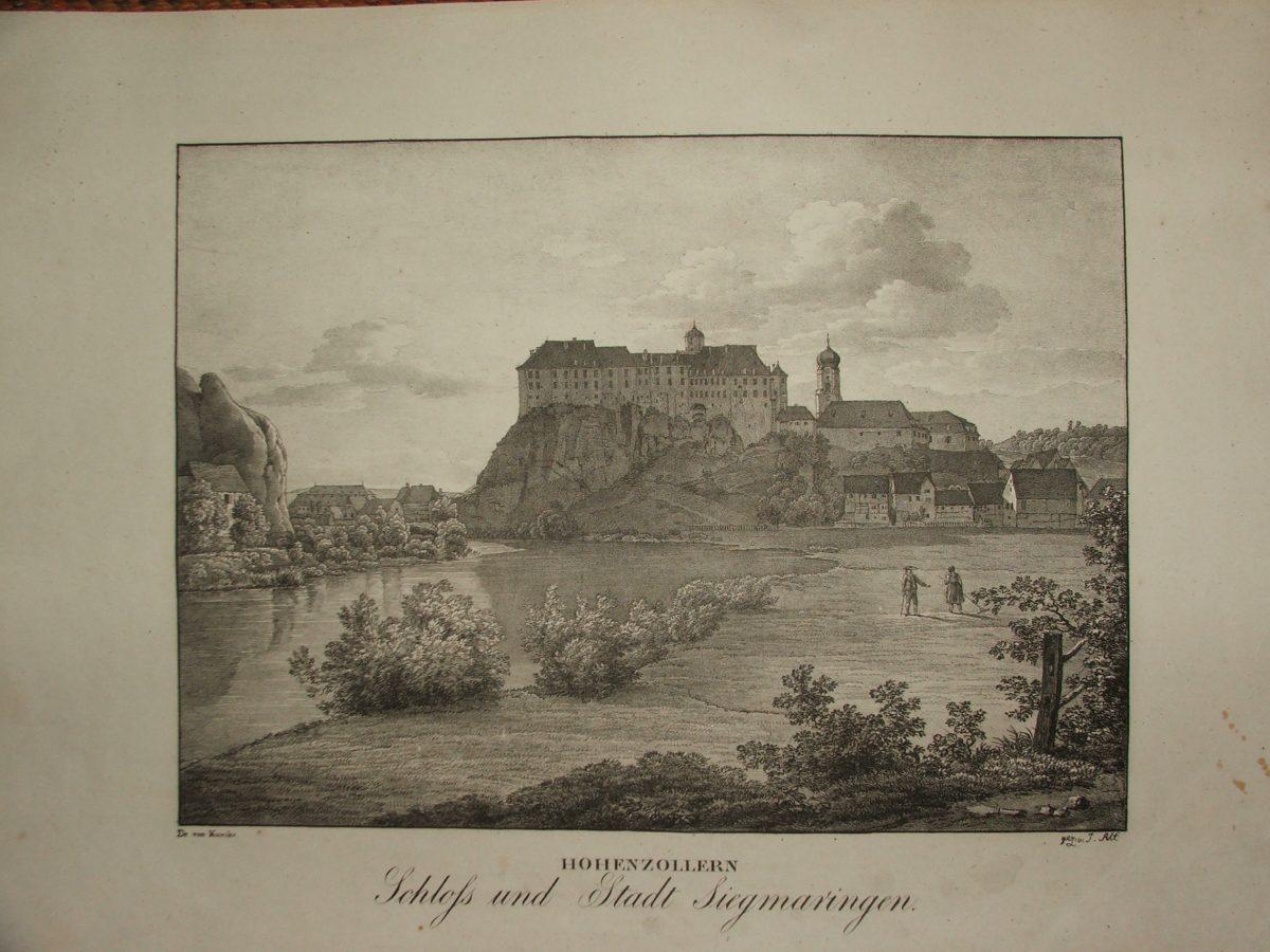 HOHENZOLLERN: Schloss und Stadt Siegmaringen