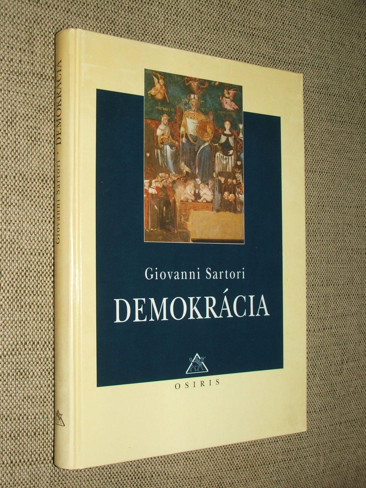 SARTORI, Giovanni: Demokrácia